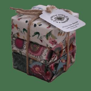 Sabonetes Dama-da-noite/Canela/Orquídea 210 gr